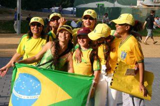 Brasilien-Fans