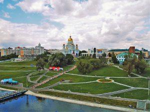Blick auf Saransk