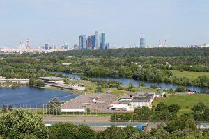 Das moderne Moskau