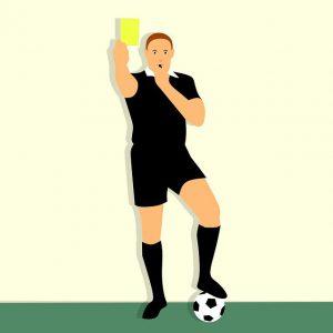 Gelbe Karte Schiedsrichter